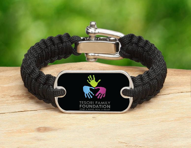 Light Duty Survival Bracelet™ - Tesori Family Foundation Logo