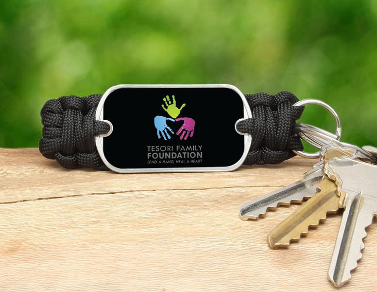 Key Fob - Tesori Family Foundation Logo