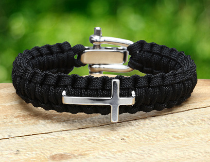 Light Duty Survival Bracelet™ - Tesori Family Foundation Cross