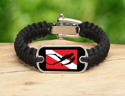 Light Duty Survival Bracelet™ - Spearfishing Tag