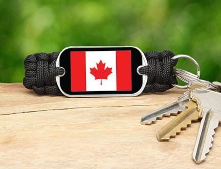 Key Fob - Canadian Flag