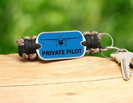 Key Fob - Private Pilot Tag