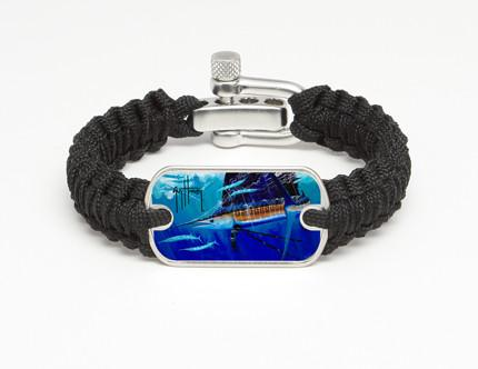Light Duty Survival Bracelet™-Guy Harvey-Hound Dog