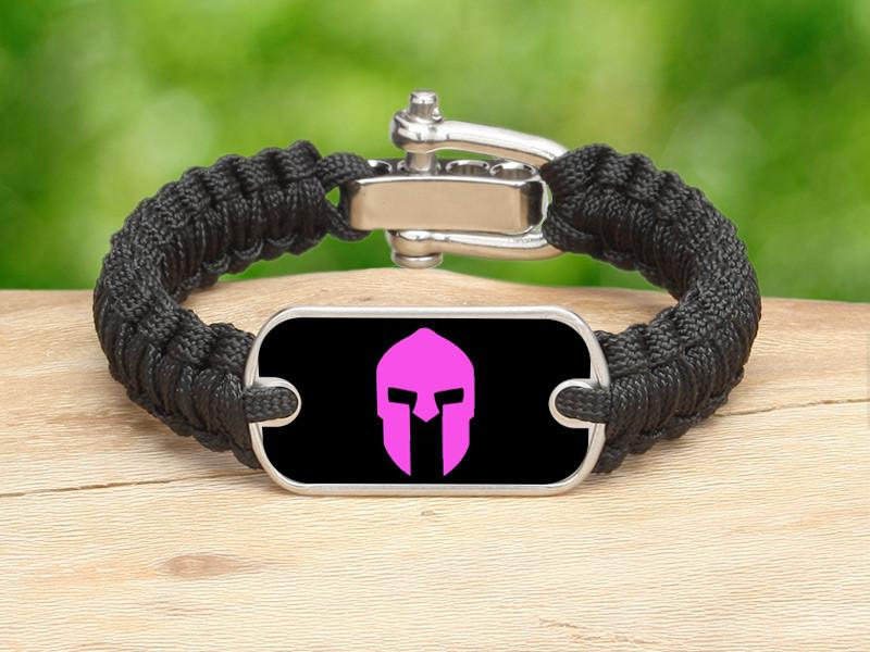 Light Duty Survival Bracelet™ - Spartan Pink