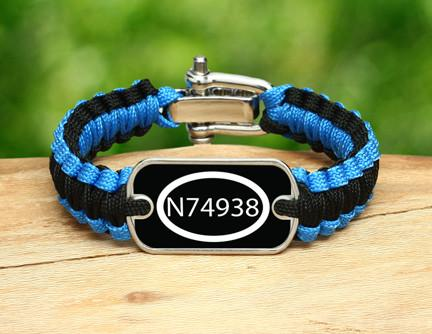 Light Duty Survival Bracelet™ - Call Number