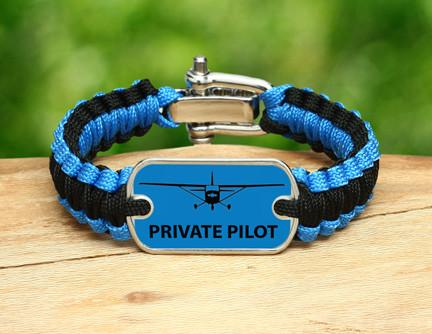Light Duty Survival Bracelet™ - Private Pilot Tag