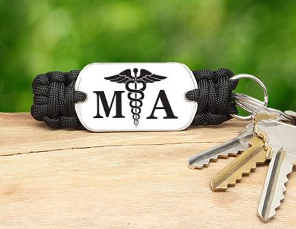 Key Fob - Medical Assistant Tag