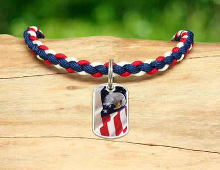Necklace - America Strong Eagle1 Logo