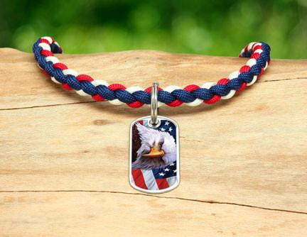 Necklace - America Strong Eagle2 Logo
