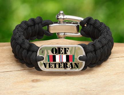 Regular Survival Bracelet™- OEF Veteran