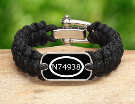 Regular Survival Bracelet™ - Call Number