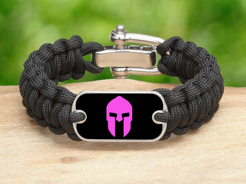 Regular Survival Bracelet™ - Spartan Pink