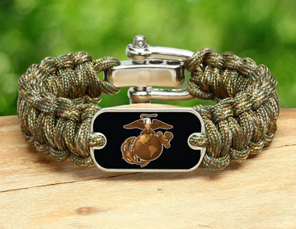 Regular Survival Bracelet - Officially Licensed - USMC