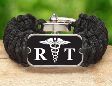 Wide Survival Bracelet™ - Respiratory Therapist Tag