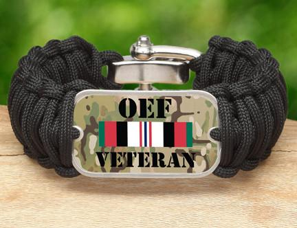 WIDE Survival Bracelet™- OEF Veteran